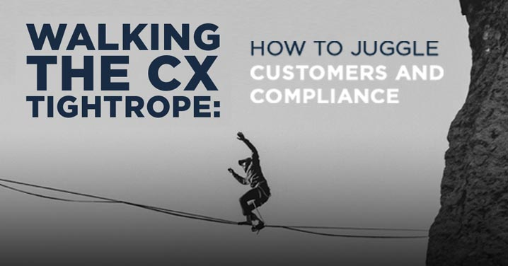 Walking the CX tightrope